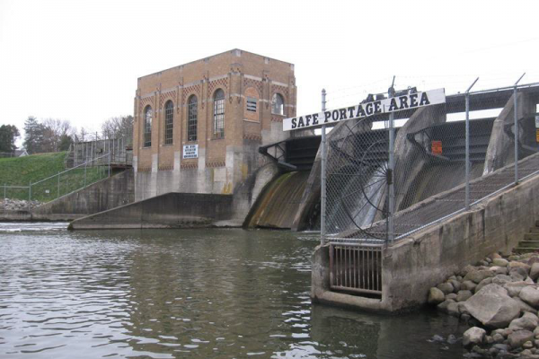 Cascade Powerhouse, Dam, and Fishway