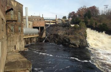 Little Quinnesec Powerhouse and Dam