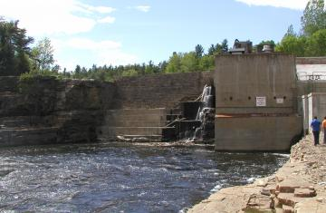 Alice Falls - Dam and Powerhouse